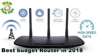 Best budget Long Range Router in 2018 Unboxing TP-Link TL-WR940N 450Mbps