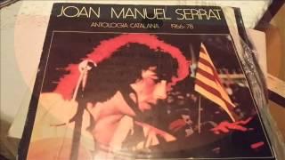 JOAN MANUEL SERRAT. ANTOLOGÍA CATALANA (1966-78) CARA A