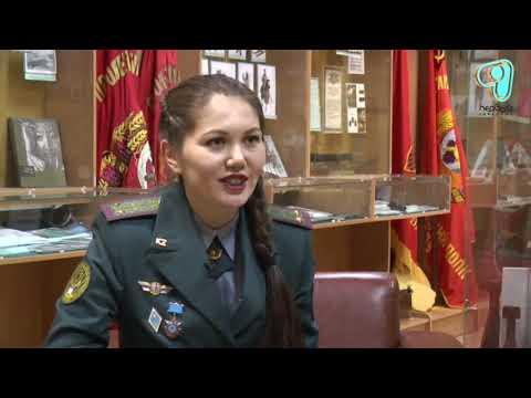 Школьная мечта девушки стать военным