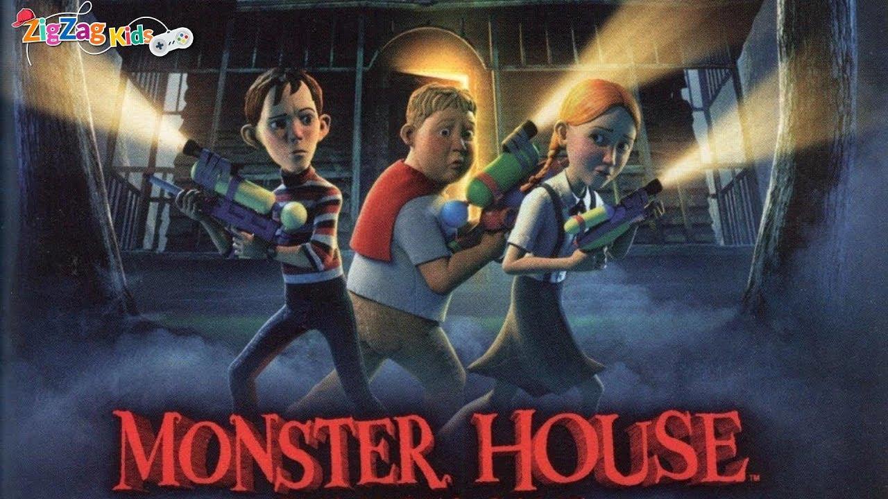 Monster House Full Movie Game Zigzag Kids Hd Youtube
