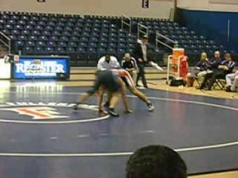 CSUF vs Menlo College Wrestling Duel 2007-2008 - 2...