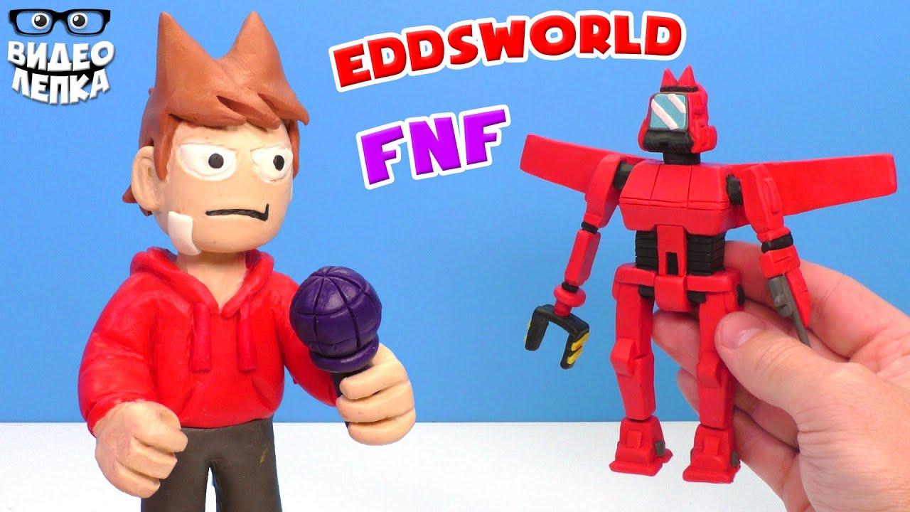 ТОРД и ТОРДБОТ из Eddsworld - Лепим Friday Night Funkin' | Видео Лепка