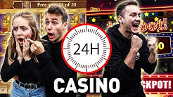 Wer GEWINNT in 24 Stunden mehr GELD im Casino ?! Max vs Chris