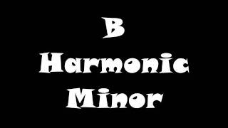 B Harmonic Minor Scale - Groovy Jam Track (Free mp3!)