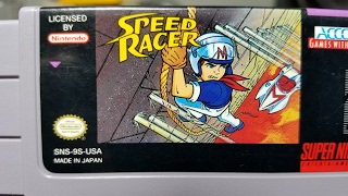 Classic Game Room - SPEED RACER review for Super Nintendo