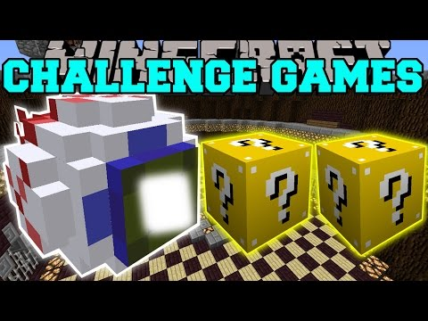 Minecraft: MUTANT EYE CHALLENGE GAMES - Lucky Block Mod - Modded Mini-Game