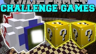 minecraft mutant eye challenge games lucky block mod modded mini game