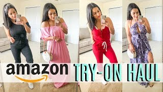 AMAZON TRY ON HAUL 2019   SUMMER CLOTHING + ACCESSORIES