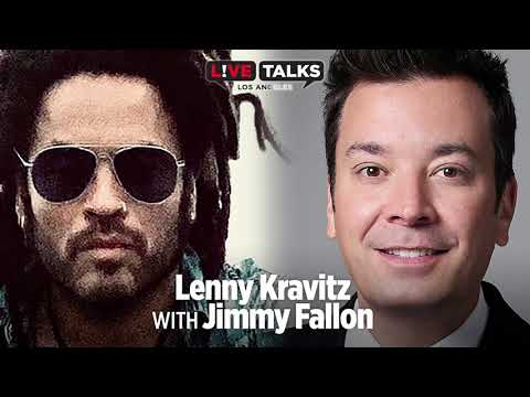 Lenny Kravitz in conversation with Jimmy Fallon at Live Talks Los Angeles