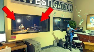 HOW WERE THEY ALL HIDING INSIDE OF THE INVESTIGATION ROOM HIDE N SEEK ON BLACK OPS 4