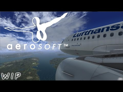 PREVIEW | FSX | Aerosoft Airbus A318/319 WIP (recorded with shadowplay)