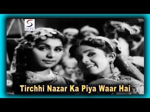 Tirchhi Nazar Ka Piya Waar Hai   Lata Mangeshkar   Madari @ Chitra, Ranjan, Jayshree Gadkar