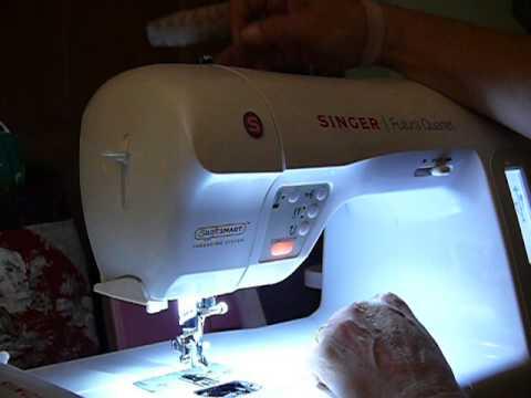 How I Thread My Singer Futura SEQS 40 YouTube Classy How To Thread A Singer Futura Sewing Machine