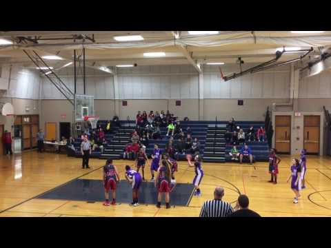 Sabrina basketball Tefft middle school versus Eastview 2/6 6