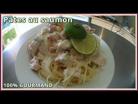 recette-de-pâtes-au-saumon-frais