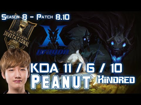 KZ Peanut KINDRED vs TRUNDLE Jungle  Patch 810 EUW Ranked