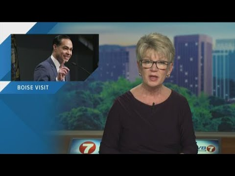Democratic presidential candidate Julian Castro visiting Boise on Tuesday Mp3
