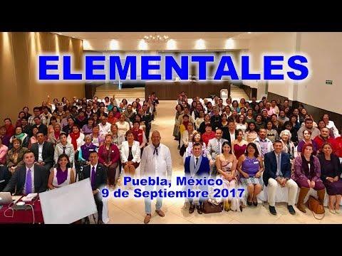 ELEMENTALES, por Rubén Cedeño desde Puebla - México (9 de Septiembre 2017)