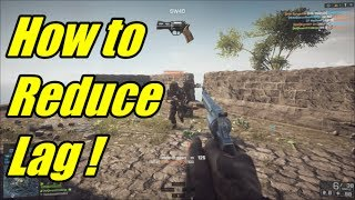 How to reduce lag / Rubber banding on Naval Strike DLC - BF4