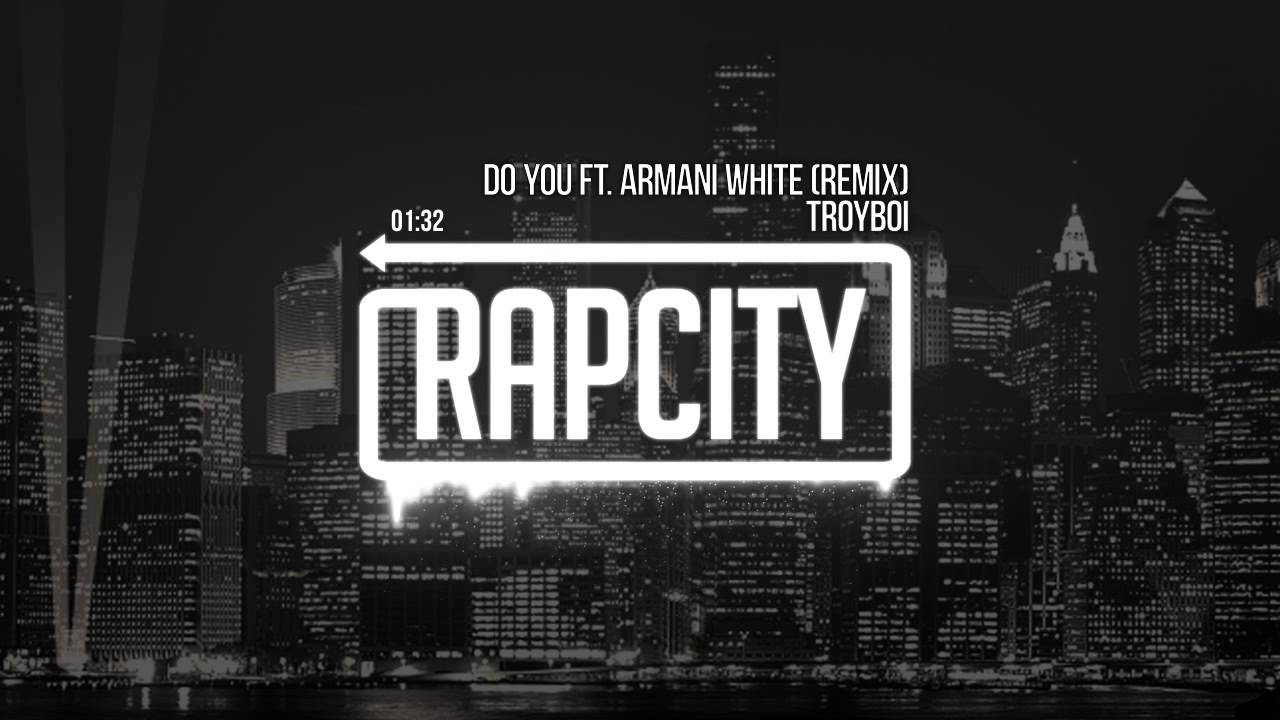 Do you troyboi armani white dress