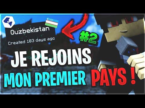 🌍 JE REJOINS MON TOUT PREMIER PAYS ! - NationsGlory | Episode 2