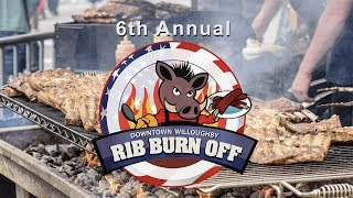 2017 Downtown Willoughby Rib Burn Off