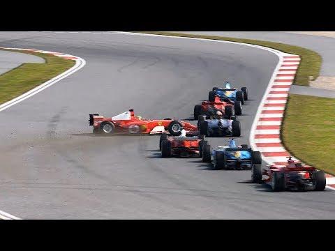No se agarra! Ferrari classic F2002.  F1 2017 Shanghai