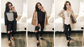WINTER FASHION: 3 cozy & chic outfits