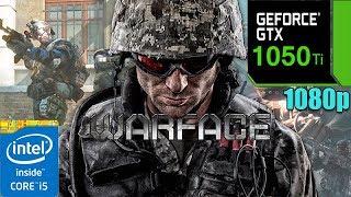 Warface GTX 1050 Ti 4GB | Max Settings | 1080p