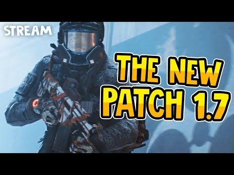 THE BRAND NEW PATCH 1.7 - The Division Live Stream