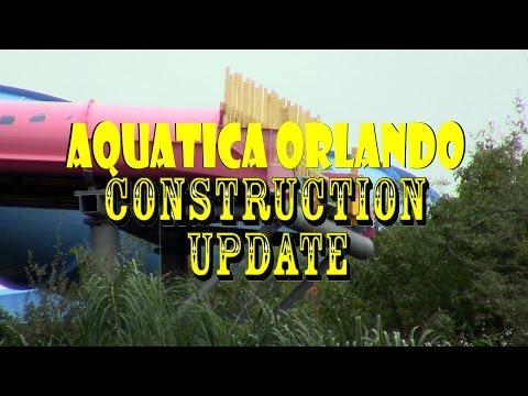 Aquatica Orlando De/Construction Update 12.21.16 Taumata Racer Slide Pieces Removal