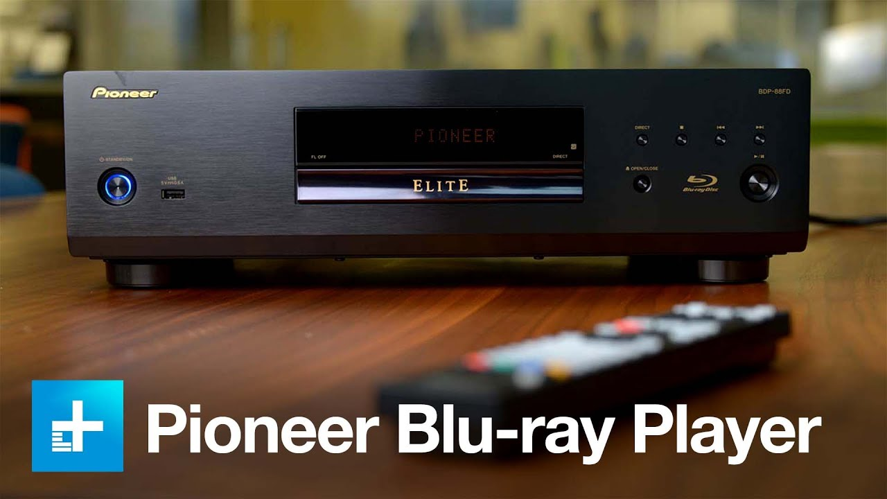 Pioneer BDP 88FP Blu-ray player - Hands on