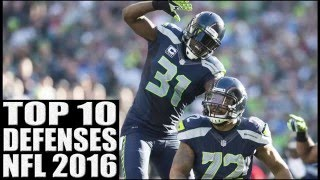 Top 10 Defenses in the NFL 2016