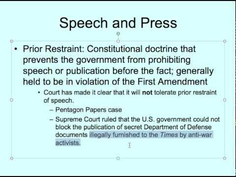 Civil Liberties Lecture