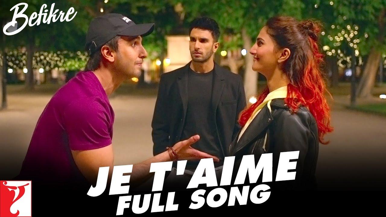 Download Je T'aime | Full Song | Befikre | Ranveer Singh, Vaani Kapoor | Sunidhi Chauhan | Vishal and Shekhar