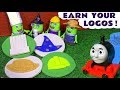 Funny Funlings earn their Play Doh logos with Thomas The Tank Engine - Toy story for kids TT4U