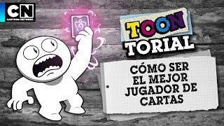 Cómo ser el mejor jugador de cartas  |Toontorial| Cartoon Network | Contiene AD