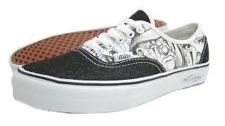 Shoe Review: Vans Syndicate x Mister Cartoon (Black/White) Authentic (2005)