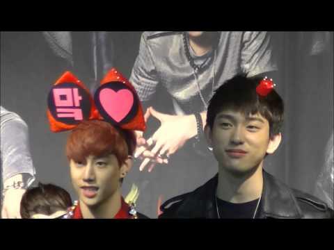 140319 GOT7 fansign at Daegu Ending