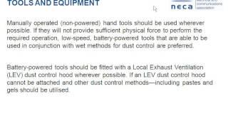 NECA NSW Webinar - Asbestos Safety 3 July 2013