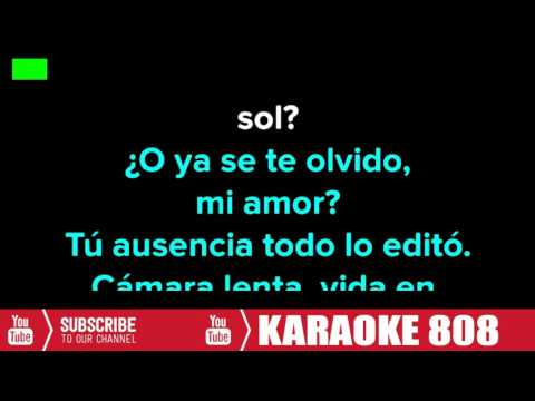 RECUERDAS - Leonel Garcia - Karaoke 808