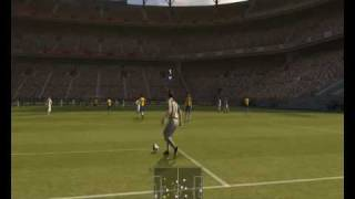 Pes 2009 GamePlay In RADEON HD 3200