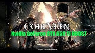 Code Vein GTX 650 Ti Intel Core i3-4330