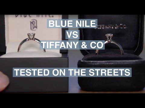 Blue Nile vs. Tiffany & Co - Street Test | The Diamond Pro