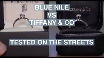 Blue Nile vs. Tiffany & Co - Street Test | The Diamond Pro