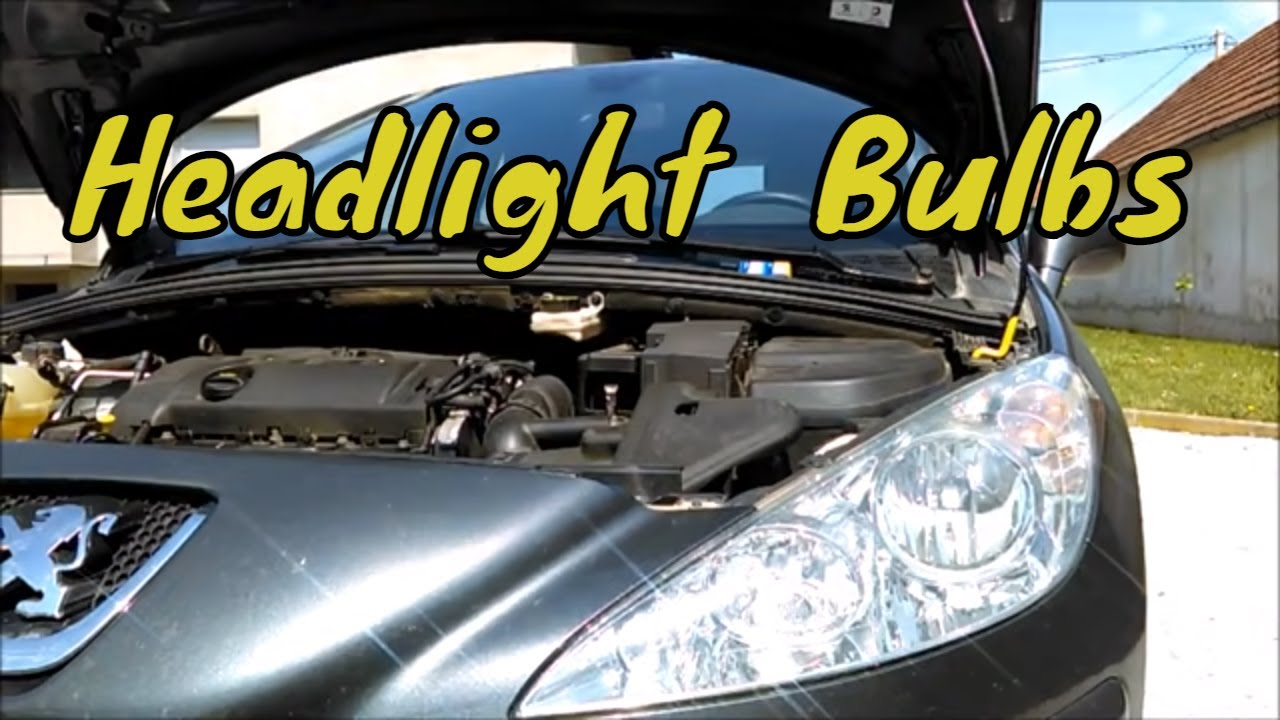 medium resolution of  peugeot sinisagarage headlightbulbs