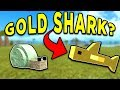 GOLDEN SHARK! EMERALD SHELLY! MINI UPDATE! (ROBLOX BOOGA BOOGA)