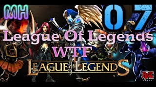 LOL WTF Moment 07: Lee Sin 1000 resists, Wtf Azir speed, Nasus Super power, Kha