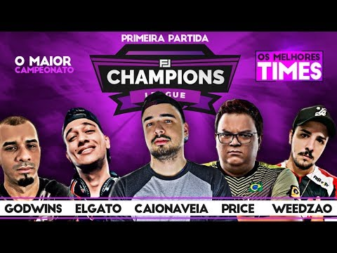 FJ CHAMPIONS LEAGUE SEGUNDO DIA PRIMEIRA PARTIDA FREE FIRE