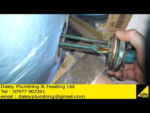 HOT WATER CYLINDER IMMERSION ELEMENT BLOWS ELECTRICS